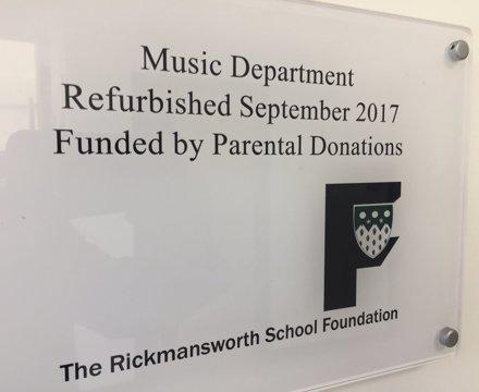 Music department 2017
