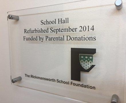 School hall 2014